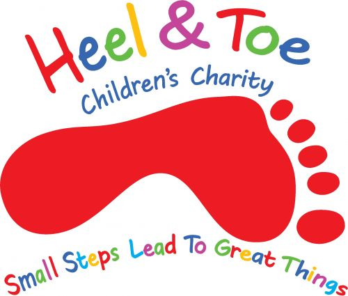 HEEL & TOE TRANSPARENT LOGO